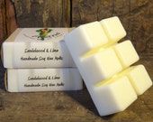 Sandalwood & Lime Handmade Soy Melts - Flat Rate Shipping Now Available!