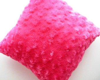 Hot Pink Reading Pillow - Fushia Library Book Corner Pillow - Ready to Ship