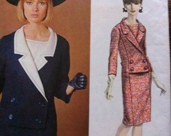 Vintage Vogue Paris Original Size 18 Label Included Jacques Heim Paris Original Pattern No. 1376 Circa 60s Pattern Semi Fitted Dress