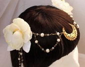 Made to order: Lady of the Moon Headress