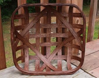 "15"" x 15"" Decorator Size NC Style Tobacco Basket (Please read full description)"