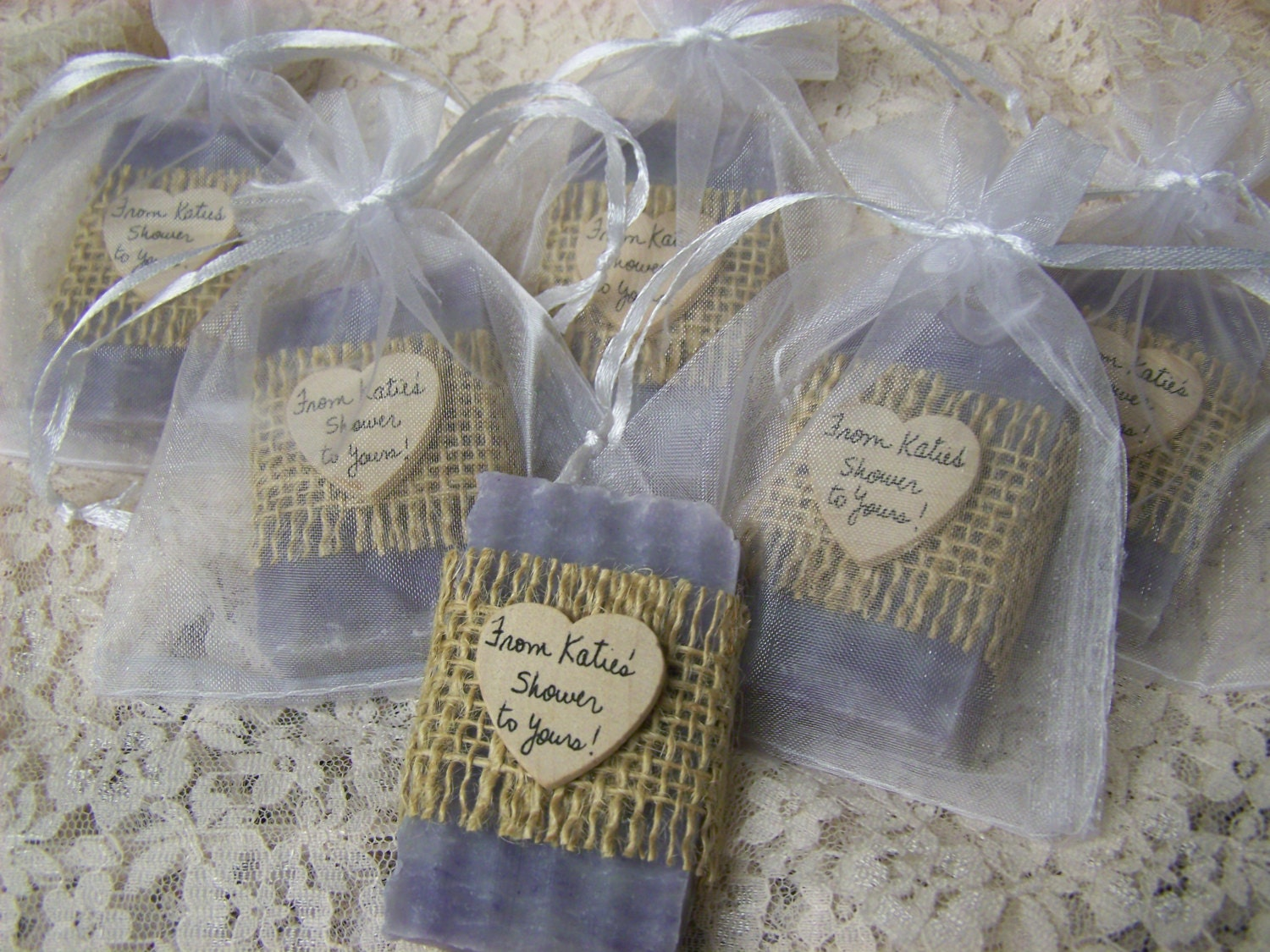 Rustic wedding favors bridal shower favors soaps dark for Shower favors wedding