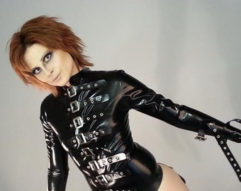 Straight Jacket Latex Fetish Clothing