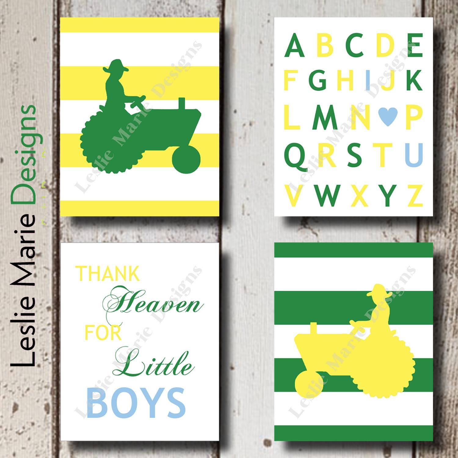 John Deere Nursery Baby Boy Room Decor By Lesliemariedesigns