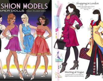 Fashion Models Paper Dolls