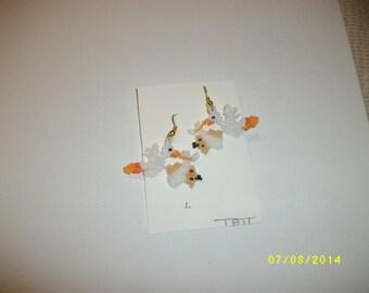 Stork N Baby Earrings L