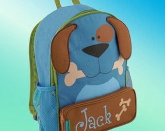 Backpack - Personalized and Embroidered - Sidekick Backpack - DOG