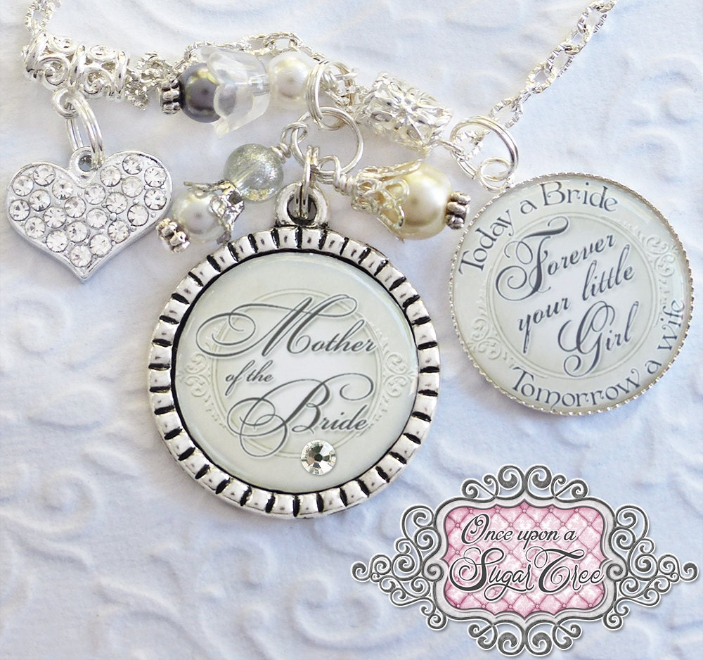 Mother of the Bride Necklace WEDDING Gift Inspirational
