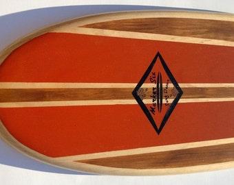 3 Foot Old School Surfboard Wall Hanger
