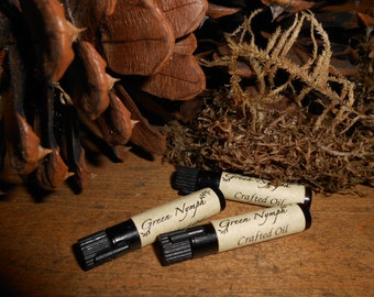 ENCHANTING AUTUMN Perfume Oil Collection by Green Nymph - THREE 1 ml Samples - Choose from Seven Magical, Comforting, Fall Scents