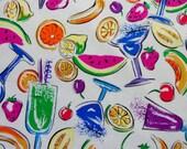 FAT QUARTER * Festive Colors * PARTY * Retro * Bright Colors * Fruit * Cocktails * Gourmet