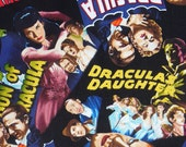 Dracula Fabric, Horror Movies, Bela Lugosi, Christopher Lee, Robert Kaufman, Halloween Fabric, By the Yard