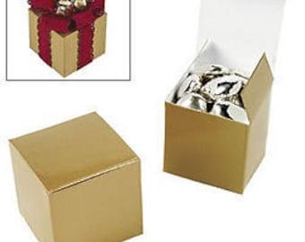 Gold Favor boxes-12 EA.