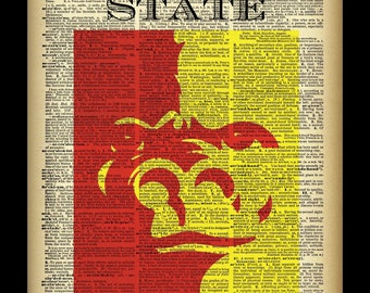 Pittsburg State Dictionary Page Photo Print