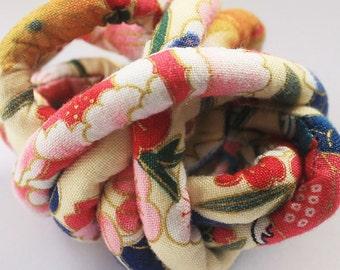 Japanese kimono fabric cord - j85