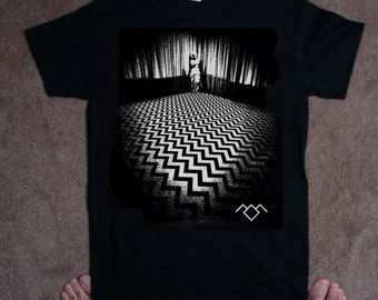 TSHIRT twin peaks black lodge nightmare TSHIRT