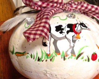 Country painted gourd!