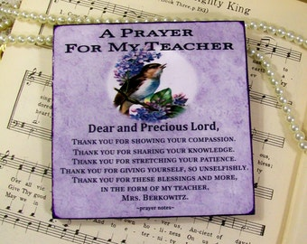 Teacher Thank You Gift Coasters For Teachers Personalized