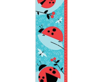 Personalized Ladybug Love Growth Chart