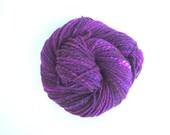 Hand spun Navajo ply yarn, 143 yds, 5.2 oz