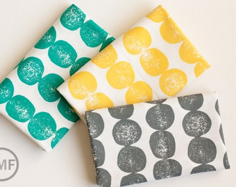 Fat Quarter Bundle Mormor Bergen, 3 Pieces, Lotta Jansdotter, Windham Fabrics, 100% Cotton Fabric, 37117