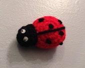Crocheted Little Ladybug - Made to Order - Amigurumi