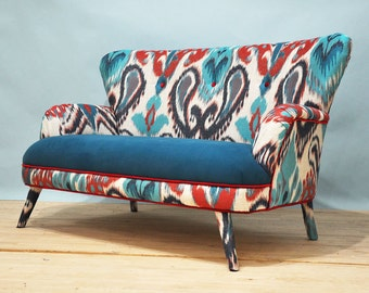 SPRING SALE 10% Off: IKAT 2-Seater Sofa