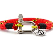 SALTI Nautical Bracelet 'WARPSPEEDX' Shackle FREE Worldwide Shipping Mens Unisex