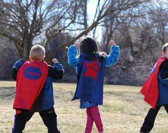 Personalized Kids Super Hero cape