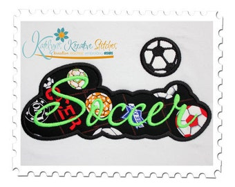Soccer Applique Script