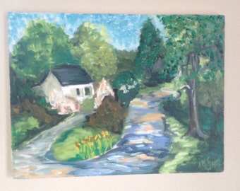 Original Painting - Cottage