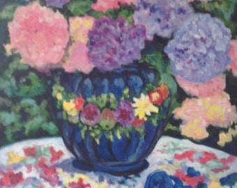 Original Still Life Painting - Flowers