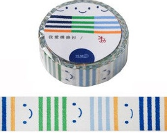 Style E - Washi Tape - smile face (15M)