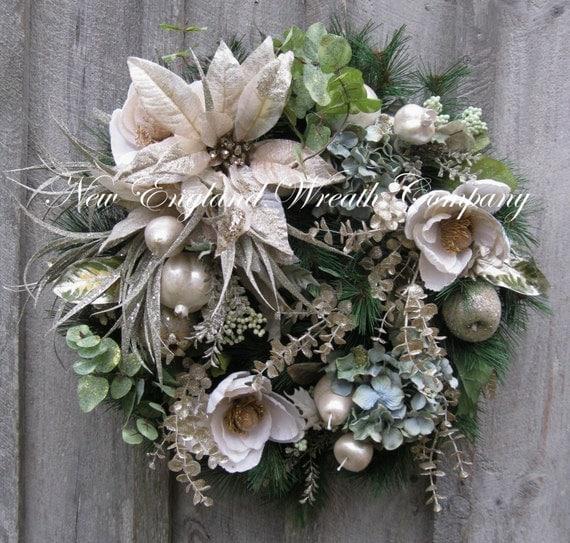 Christmas Wreath Holiday Wreath Designer Holiday D 233 Cor