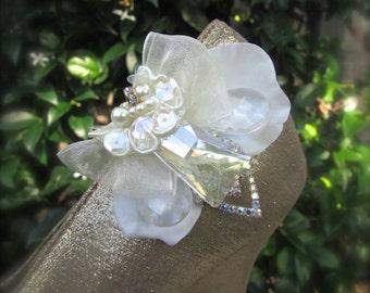Bridal Shoe Clips Vintage inspired elegance
