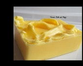 lemon bath and body goats milk glycerin soap