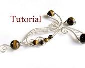 Tutorial, a wirework and stone pendant, Italian language tutorial