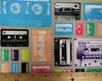 Mix Tape Fabric
