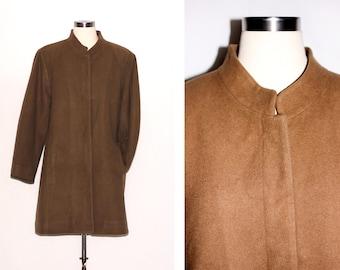 Vintage Italian Wool Camel Coat