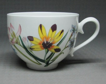 Portmeirion Ladies Flower Garden teacup cup ( A ) fine china england