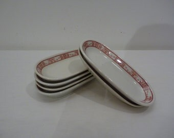 Ironstone appetizer plates
