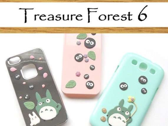 Reserved for ameraz1 - Unique iPhone 5 Case - Totoro and soots