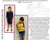 DOWNLOADABLE eHP 3001 Mini-Me Essential Dress & Top A4 Paper Size