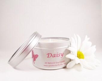 Daisy Soy Candle --8 oz. tin