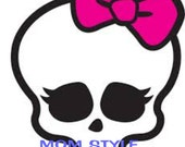 Monster High iron on transfer for color t-shirts #2