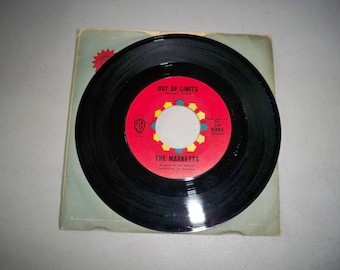 """Vintage 1960's 45 rpm Record """"Out Of Limits"""" by The Marketts"""
