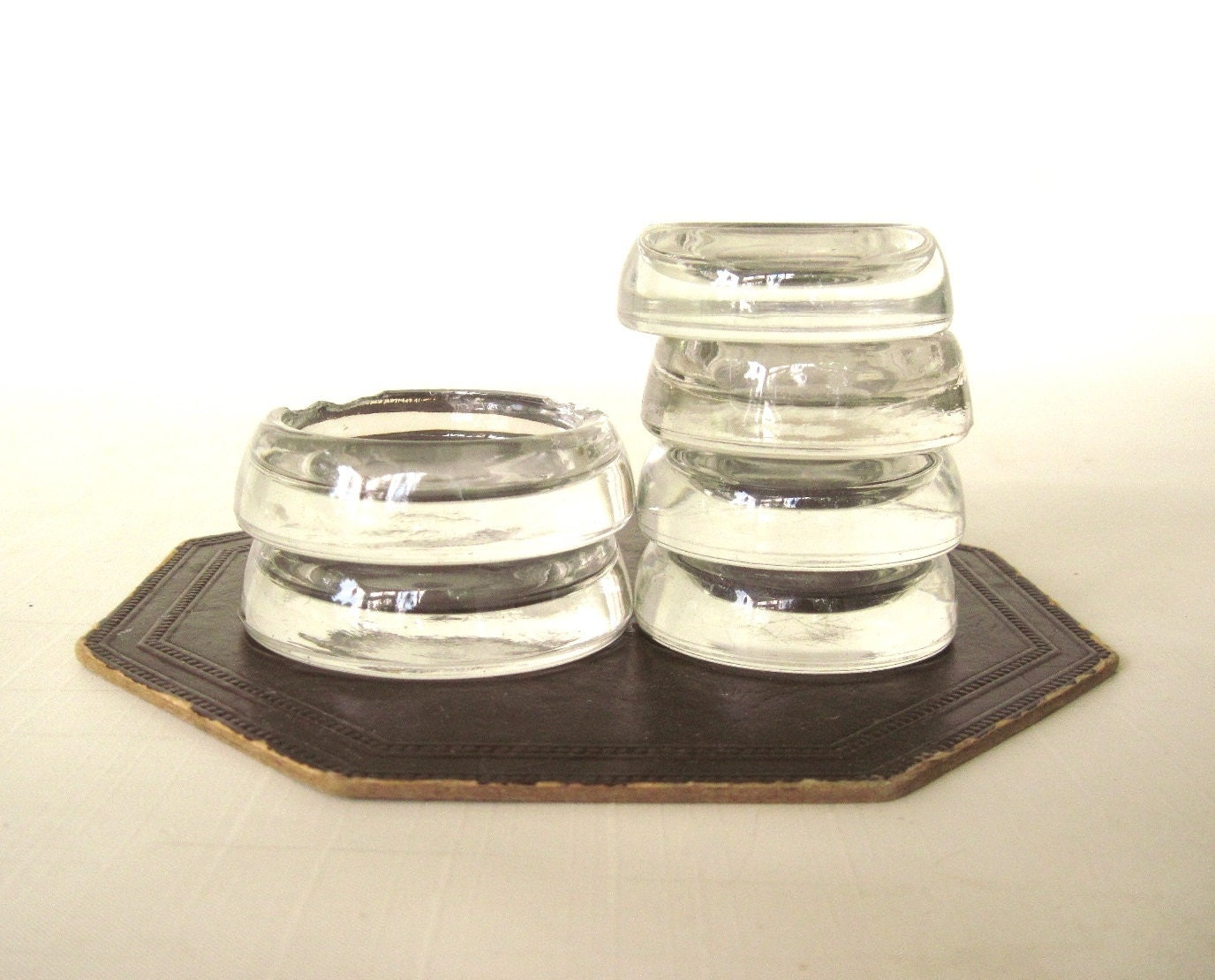 Glass Furniture Leg Coasters Carpet Rug Protectors Anchor
