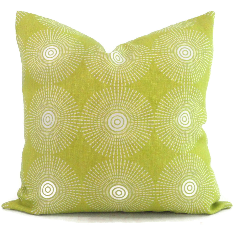 Jonathan Adler Spring Green Super Nova Decorative Pillow Cover