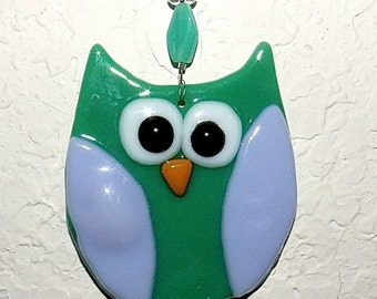 Owl Glass Ornament
