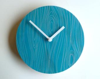Objectify Faux Bois 1 Wall Clock